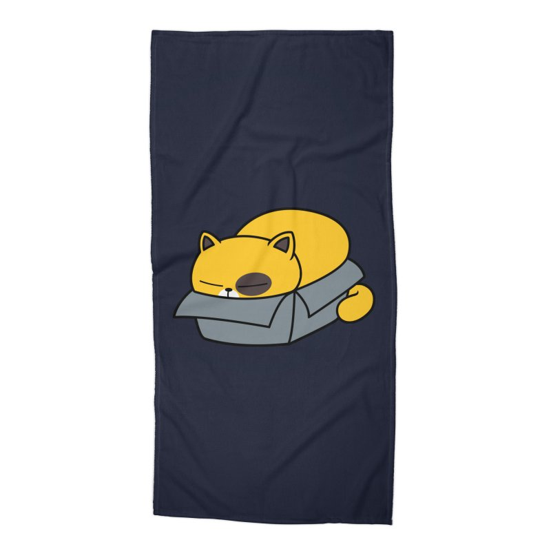 Fat can Fit Accessories Beach Towel by Pigboom's Artist Shop