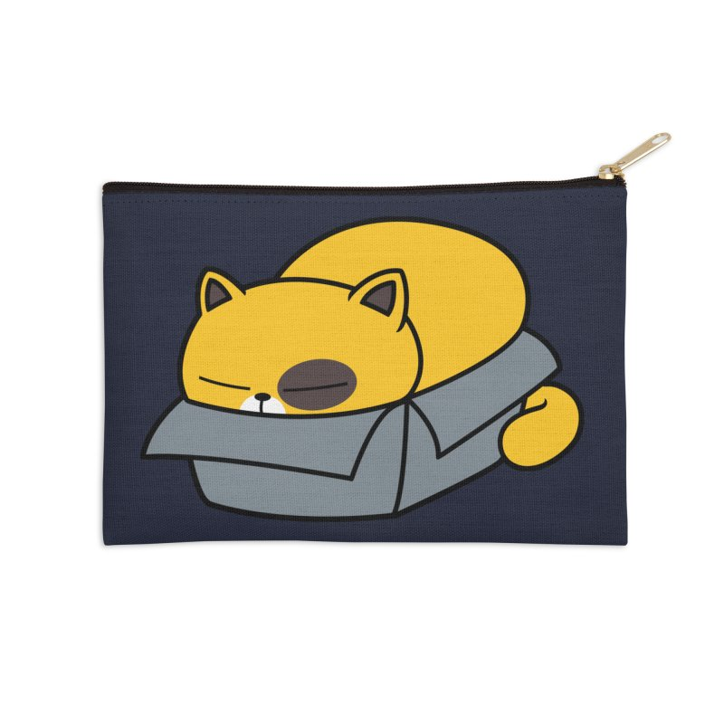Fat can Fit Accessories Zip Pouch by Pigboom's Artist Shop