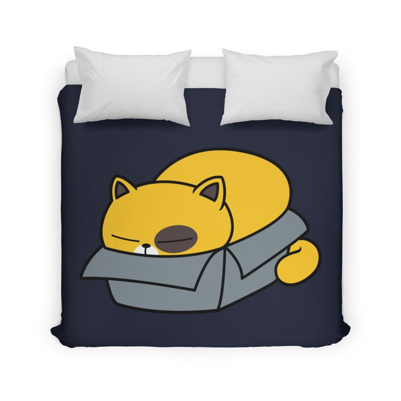 Fat can Fit Home Duvet by Pigboom's Artist Shop