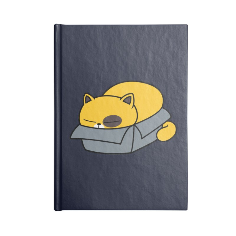 Fat can Fit Accessories Notebook by Pigboom's Artist Shop