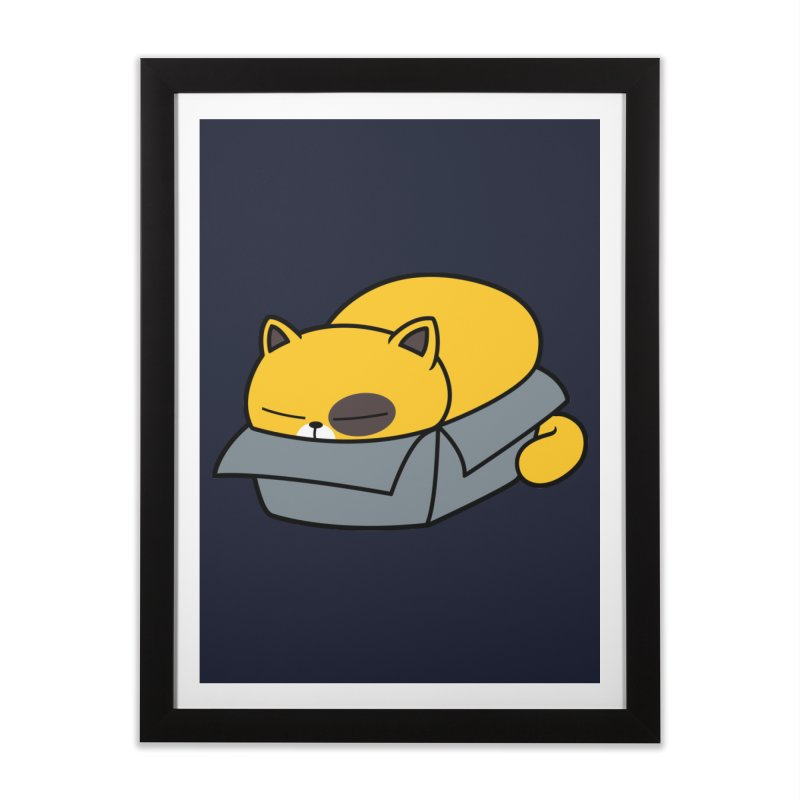 Fat can Fit Home Framed Fine Art Print by Pigboom's Artist Shop