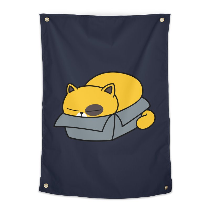 Fat can Fit Home Tapestry by Pigboom's Artist Shop