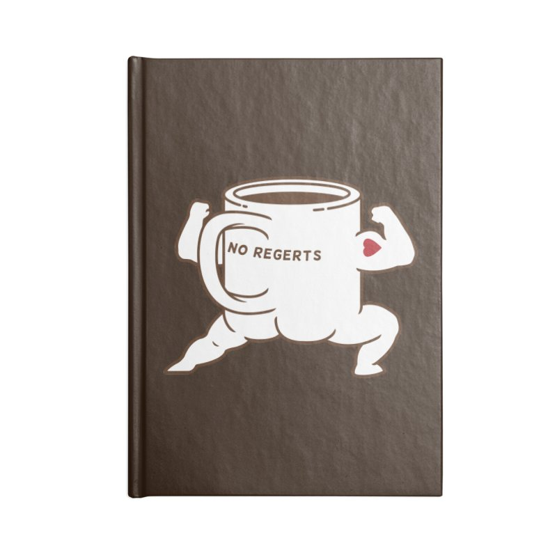 Strong Coffee Accessories Notebook by Pigboom's Artist Shop
