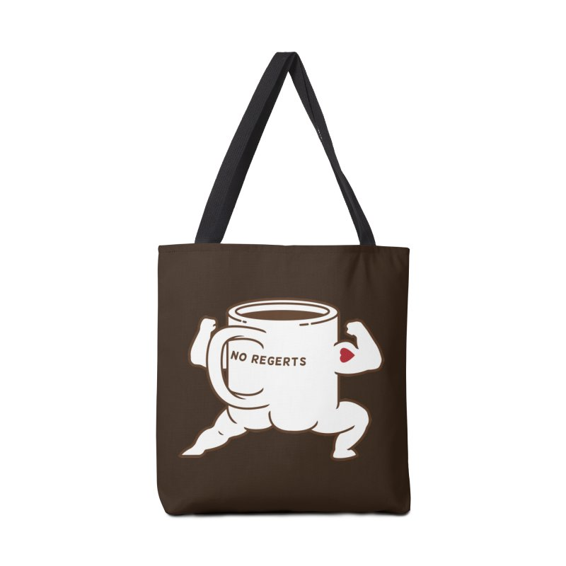 Strong Coffee Accessories Bag by Pigboom's Artist Shop