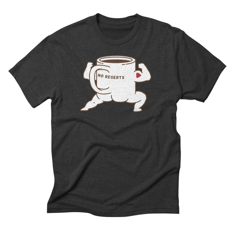 Strong Coffee Men's Triblend T-Shirt by Pigboom's Artist Shop