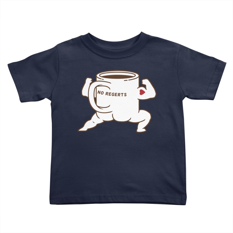 Strong Coffee Kids Toddler T-Shirt by Pigboom's Artist Shop