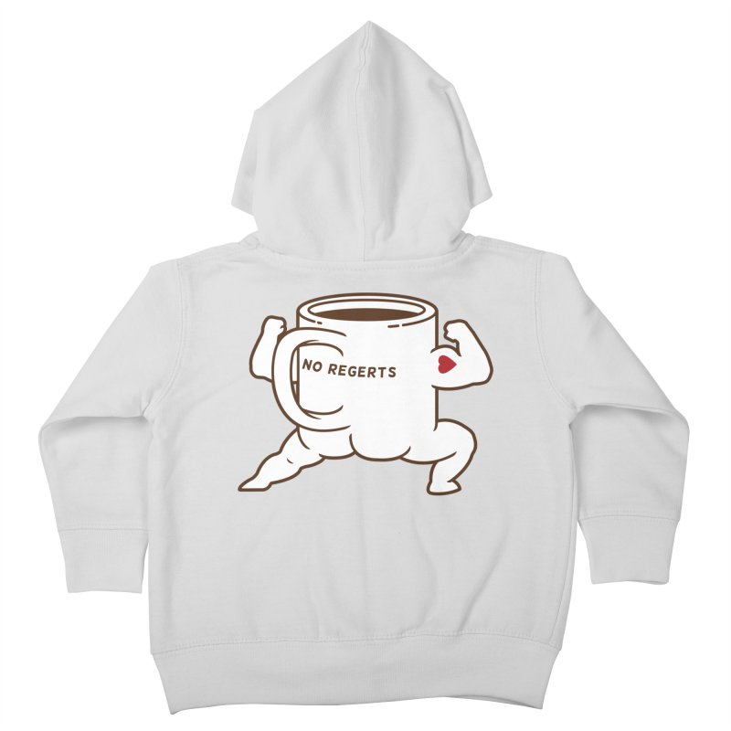 Strong Coffee Kids Toddler Zip-Up Hoody by Pigboom's Artist Shop