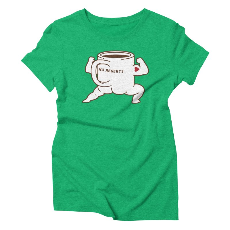 Strong Coffee Women's  by Pigboom's Artist Shop
