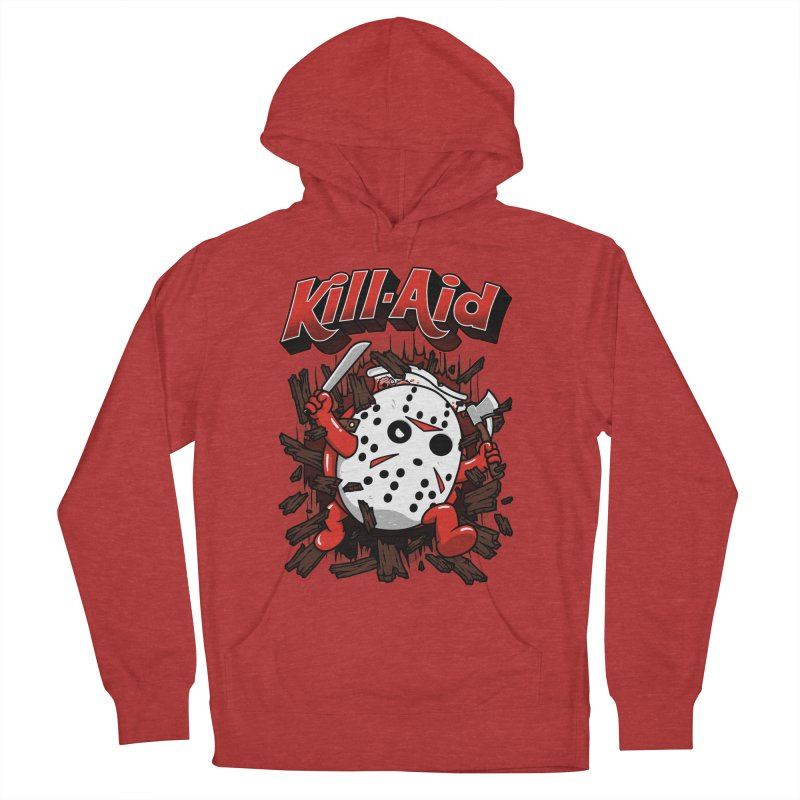 Kill-Aid Rotten Strawberry Flavor Women's French Terry Pullover Hoody by Pigboom's Artist Shop