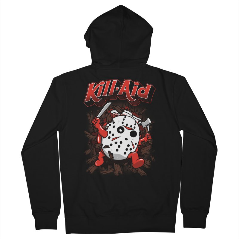 Kill-Aid Rotten Strawberry Flavor Men's French Terry Zip-Up Hoody by Pigboom's Artist Shop