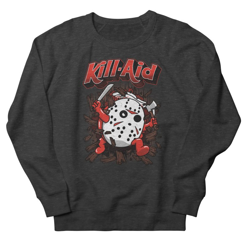 Kill-Aid Rotten Strawberry Flavor Men's French Terry Sweatshirt by Pigboom's Artist Shop