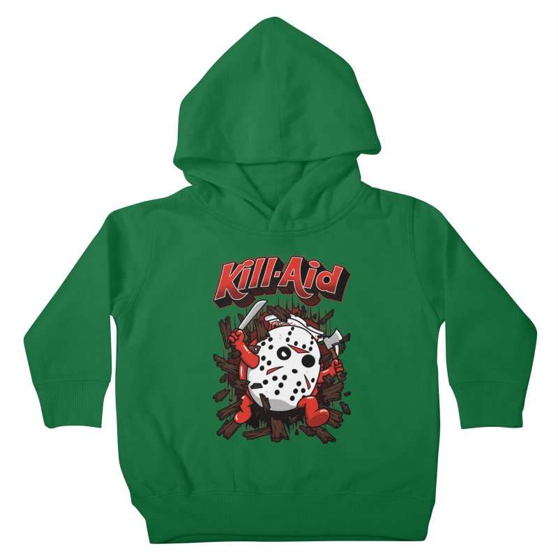 Kill-Aid Rotten Strawberry Flavor Kids Toddler Pullover Hoody by Pigboom's Artist Shop
