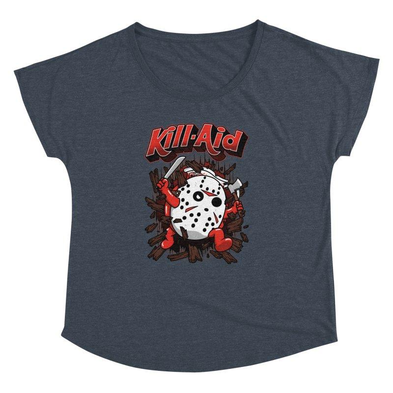 Kill-Aid Rotten Strawberry Flavor Women's Dolman Scoop Neck by Pigboom's Artist Shop