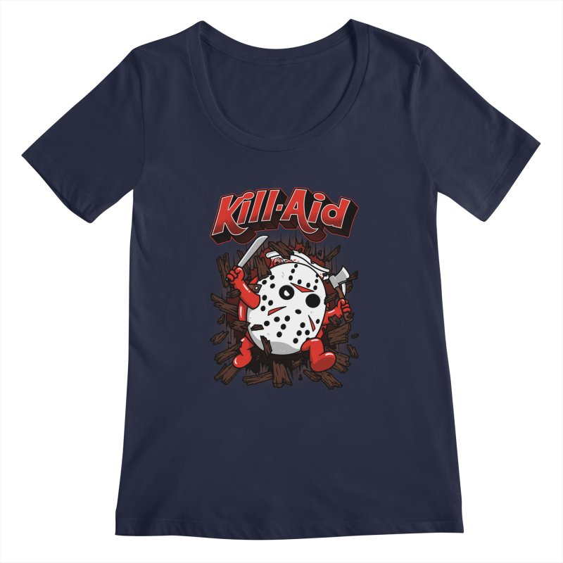 Kill-Aid Rotten Strawberry Flavor Women's Regular Scoop Neck by Pigboom's Artist Shop