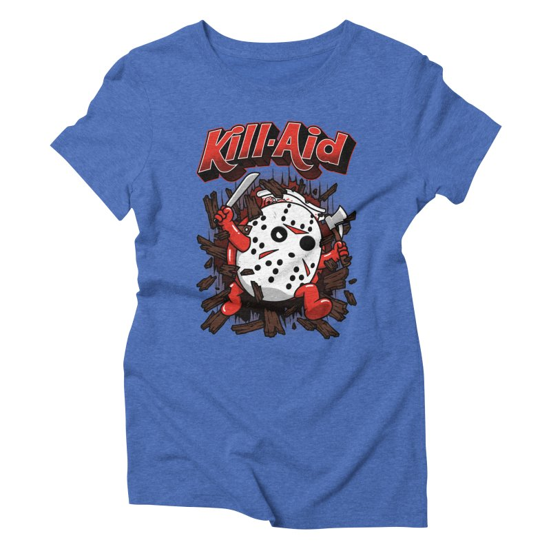 Kill-Aid Rotten Strawberry Flavor Women's Triblend T-Shirt by Pigboom's Artist Shop