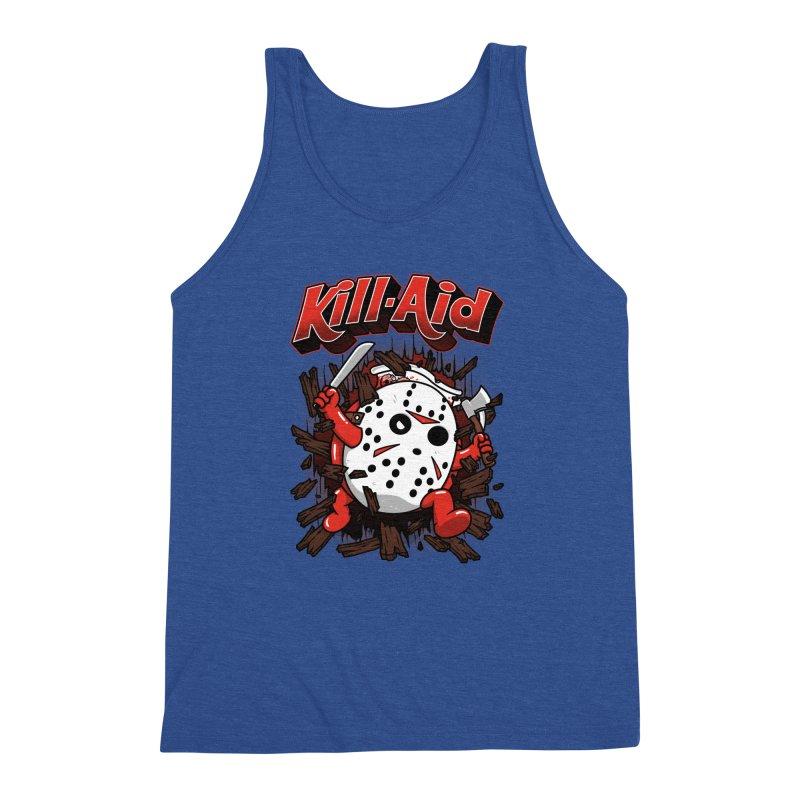 Kill-Aid Rotten Strawberry Flavor Men's Triblend Tank by Pigboom's Artist Shop