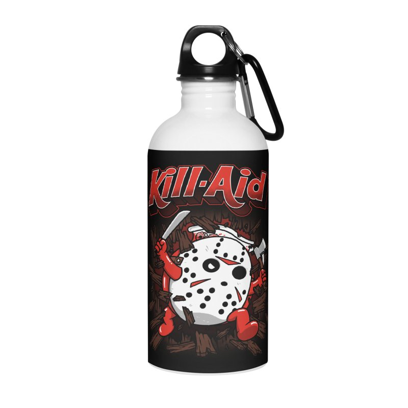Kill-Aid Rotten Strawberry Flavor Accessories Water Bottle by Pigboom's Artist Shop