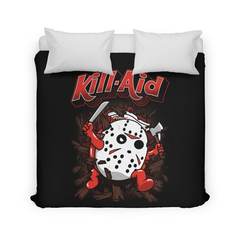 Kill-Aid Rotten Strawberry Flavor Home Duvet by Pigboom's Artist Shop