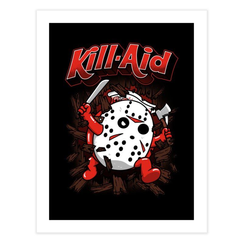 Kill-Aid Rotten Strawberry Flavor Home Fine Art Print by Pigboom's Artist Shop