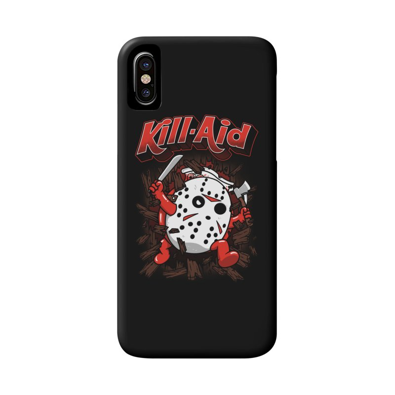 Kill-Aid Rotten Strawberry Flavor Accessories Phone Case by Pigboom's Artist Shop
