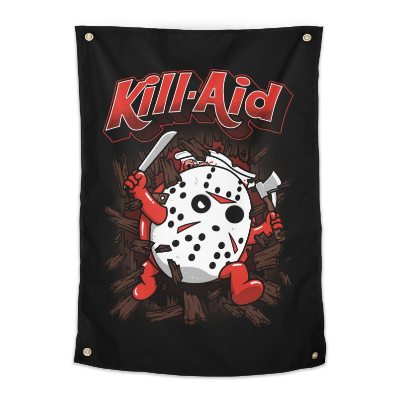Kill-Aid Rotten Strawberry Flavor Home Tapestry by Pigboom's Artist Shop