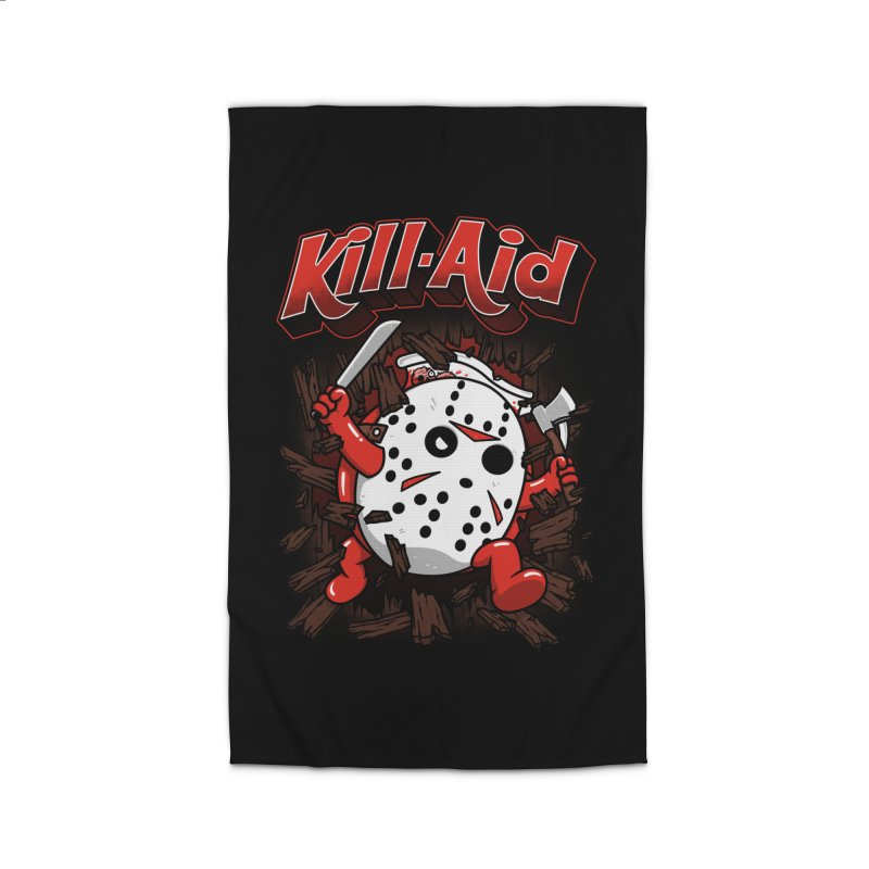 Kill-Aid Rotten Strawberry Flavor Home Rug by Pigboom's Artist Shop