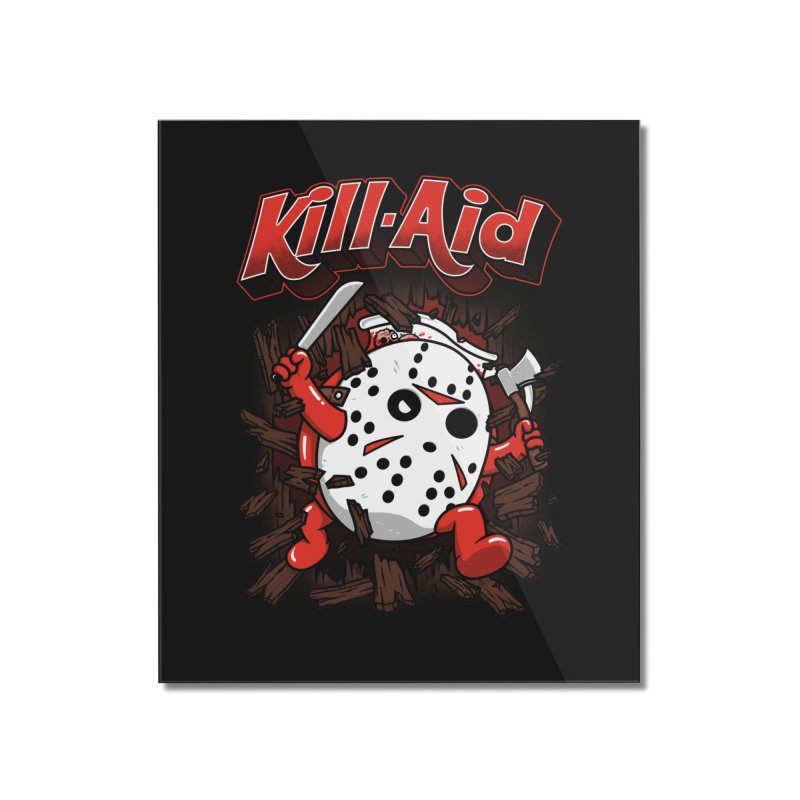 Kill-Aid Rotten Strawberry Flavor Home Mounted Acrylic Print by Pigboom's Artist Shop