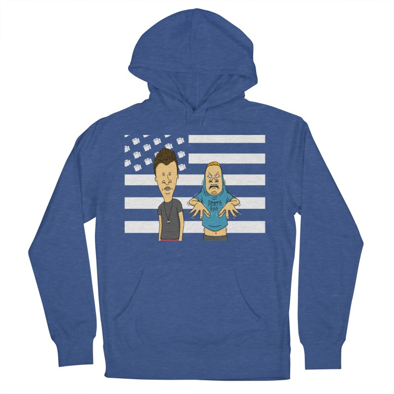 Cornholia Men's French Terry Pullover Hoody by Pigboom's Artist Shop