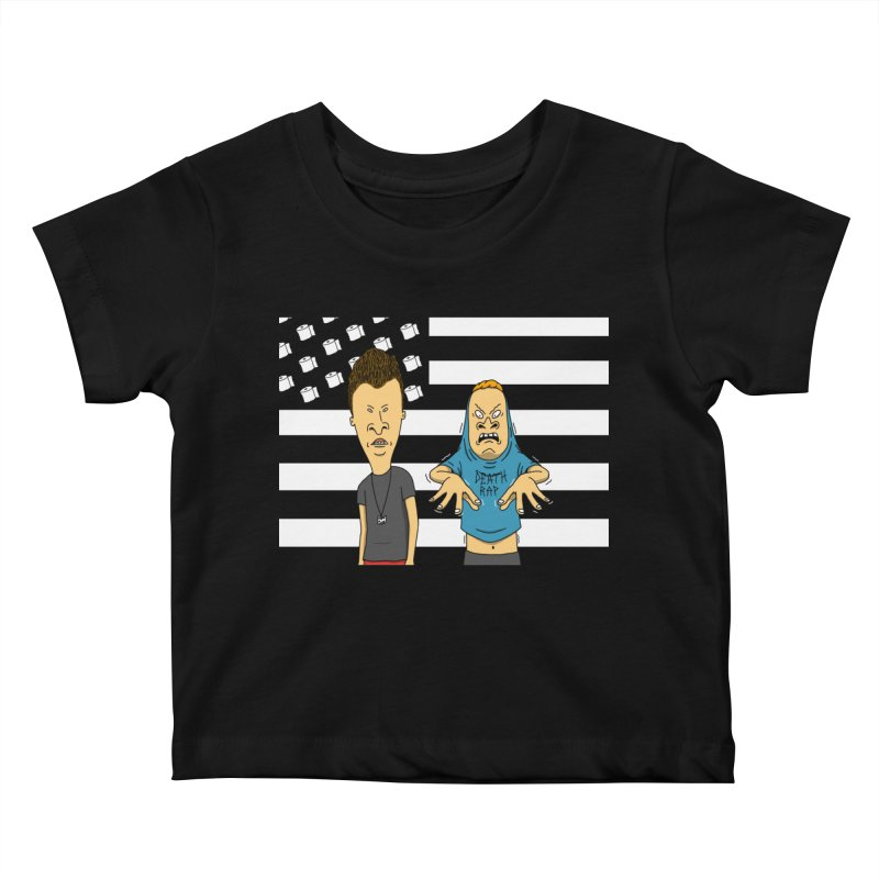 Cornholia Kids Baby T-Shirt by Pigboom's Artist Shop