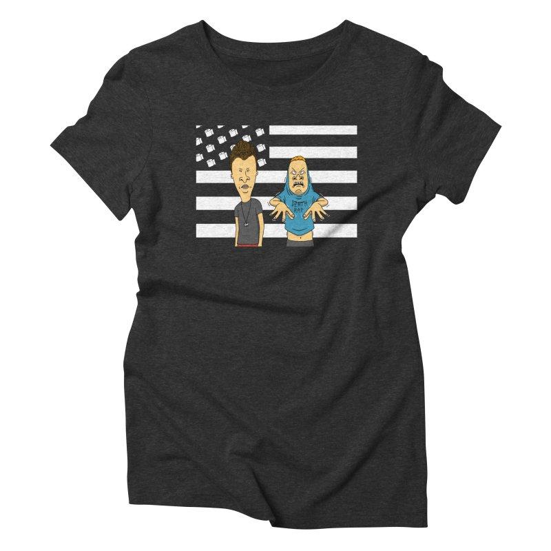 Cornholia Women's Triblend T-Shirt by Pigboom's Artist Shop