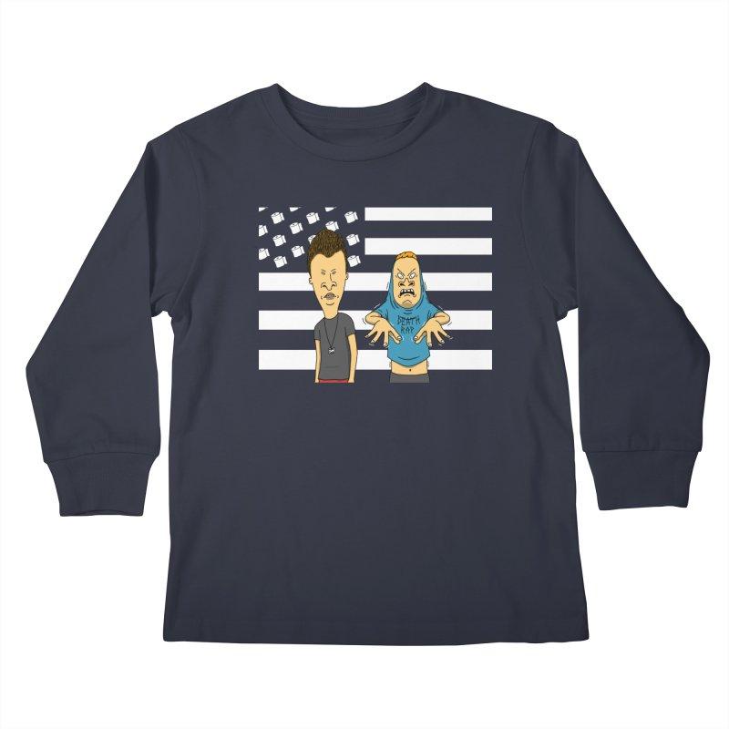 Cornholia Kids Longsleeve T-Shirt by Pigboom's Artist Shop
