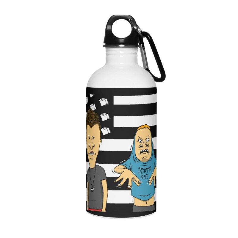 Cornholia Accessories Water Bottle by Pigboom's Artist Shop