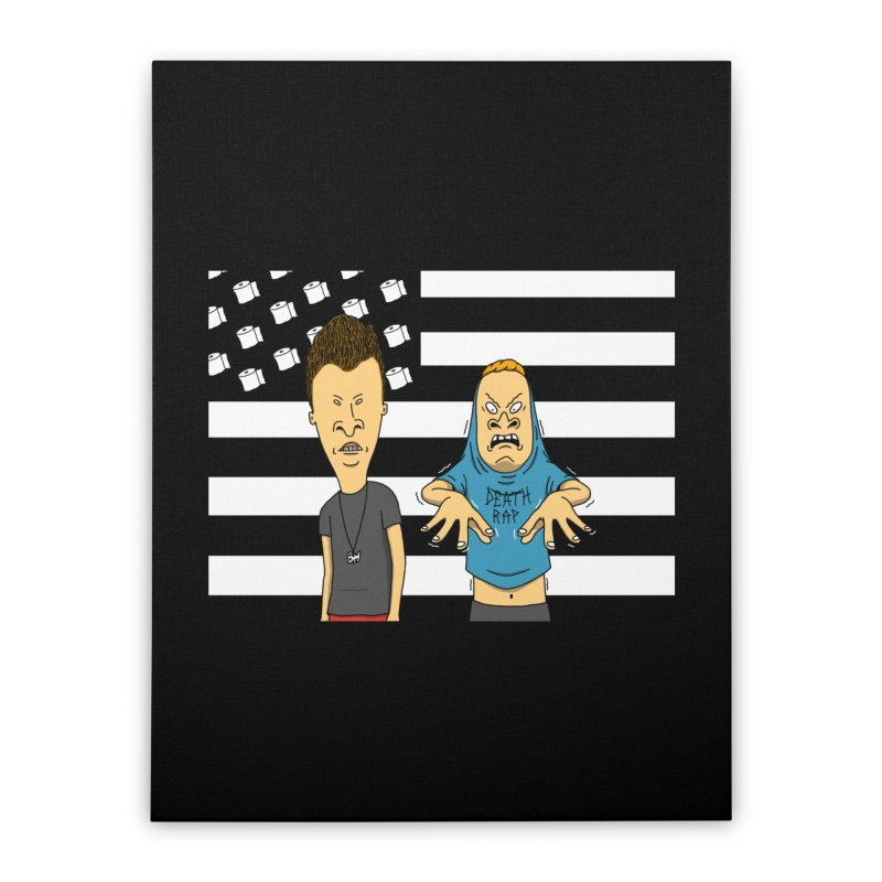 Cornholia Home Stretched Canvas by Pigboom's Artist Shop