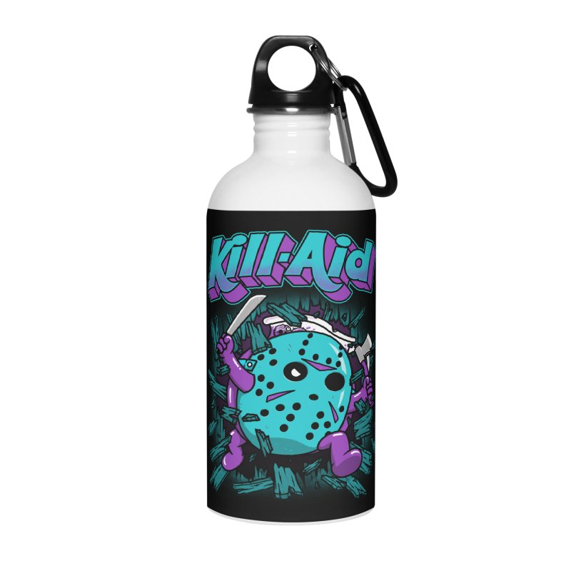 Kill-Aid Rotten Grape Flavor Accessories Water Bottle by Pigboom's Artist Shop