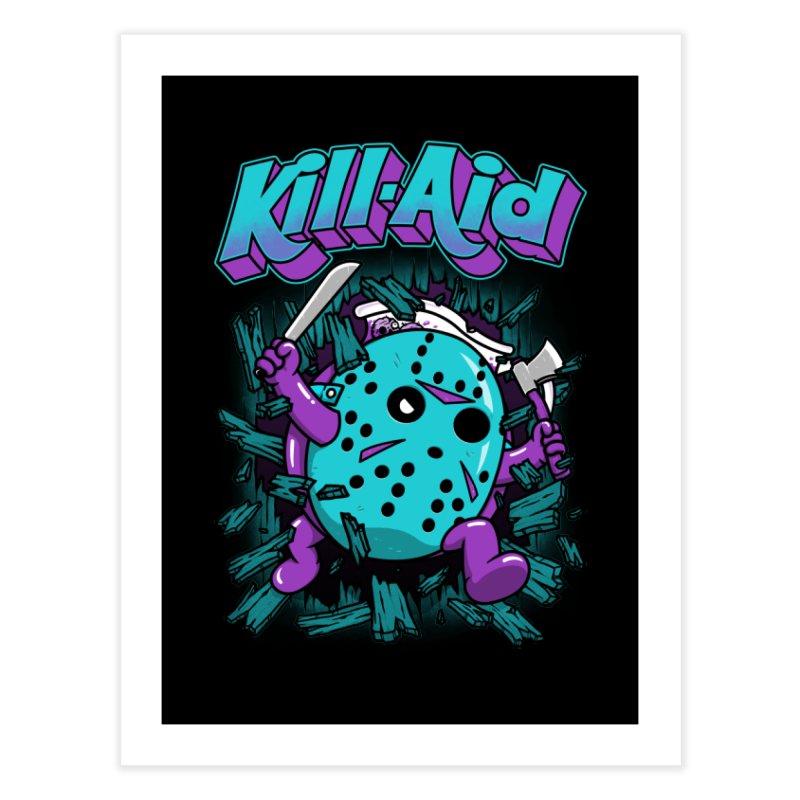 Kill-Aid Rotten Grape Flavor Home Fine Art Print by Pigboom's Artist Shop