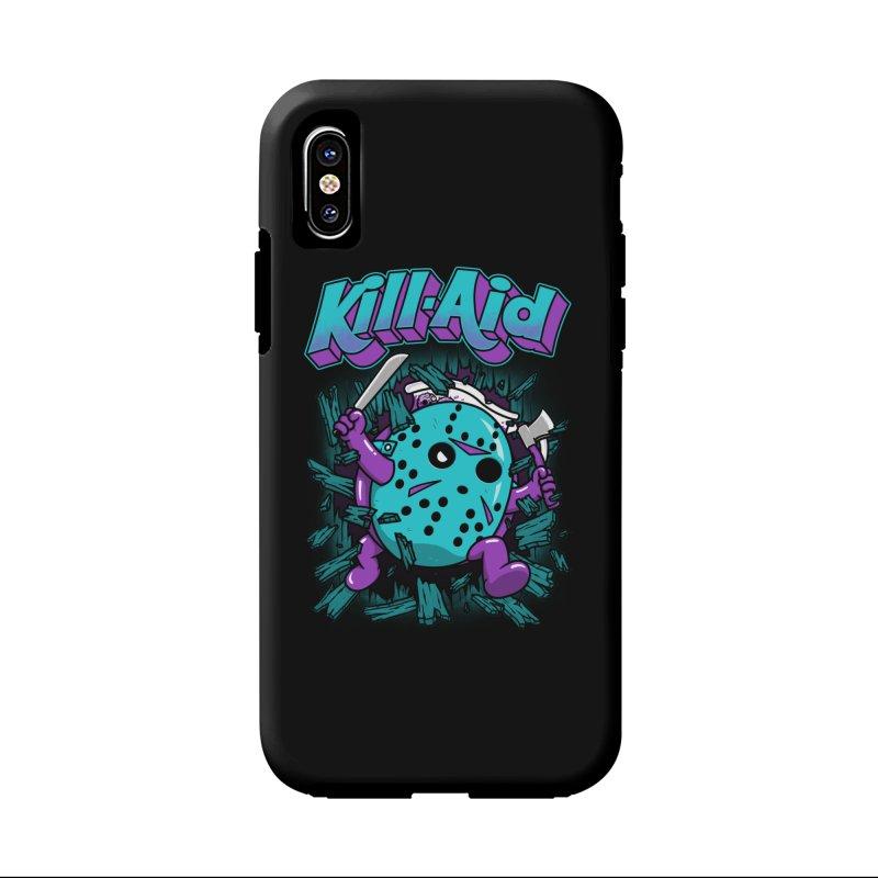 Kill-Aid Rotten Grape Flavor Accessories Phone Case by Pigboom's Artist Shop
