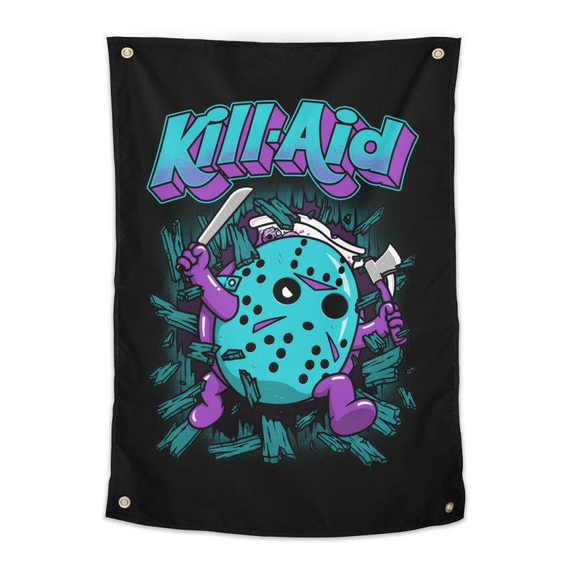 Kill-Aid Rotten Grape Flavor Home Tapestry by Pigboom's Artist Shop