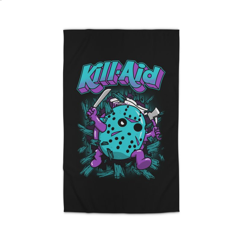 Kill-Aid Rotten Grape Flavor Home Rug by Pigboom's Artist Shop