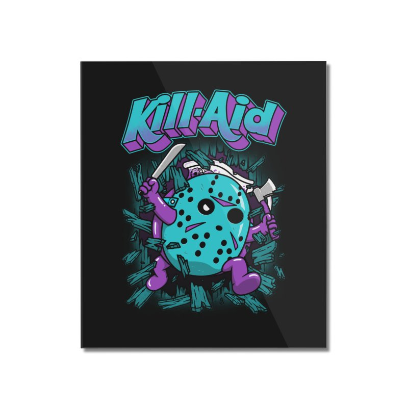 Kill-Aid Rotten Grape Flavor Home Mounted Acrylic Print by Pigboom's Artist Shop