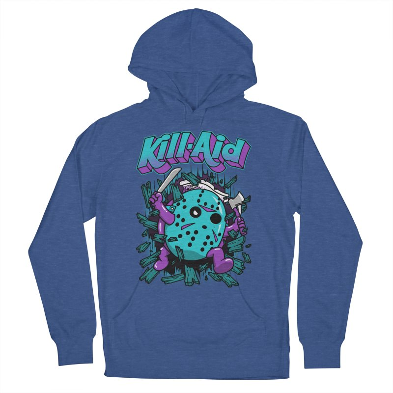 Kill-Aid Rotten Grape Flavor Men's French Terry Pullover Hoody by Pigboom's Artist Shop