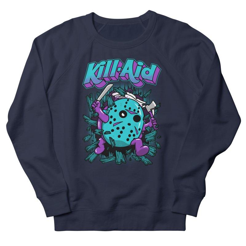 Kill-Aid Rotten Grape Flavor Men's French Terry Sweatshirt by Pigboom's Artist Shop
