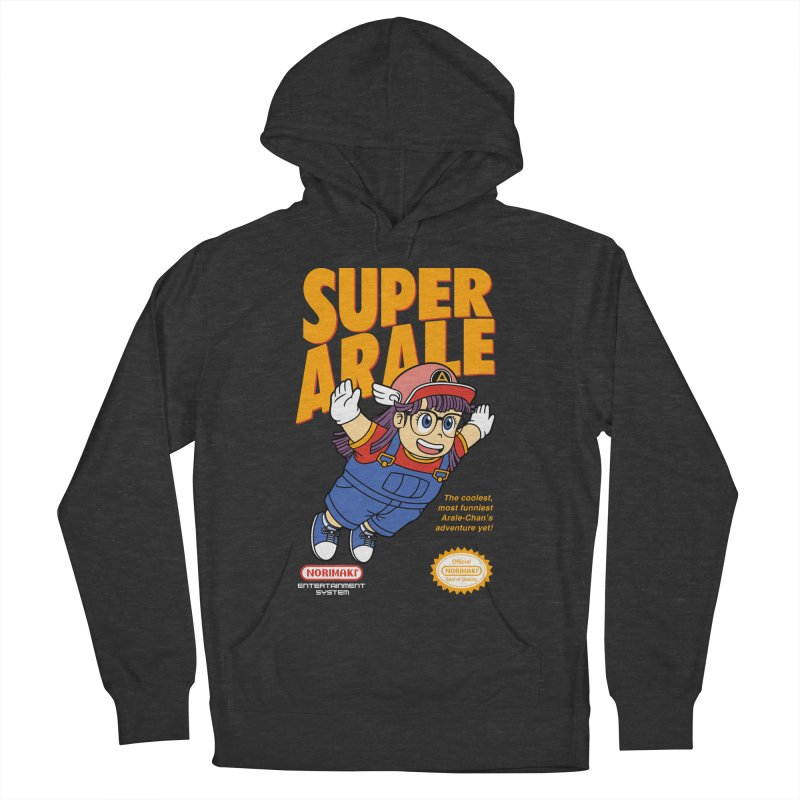 Super Android Girl Women's French Terry Pullover Hoody by Pigboom's Artist Shop