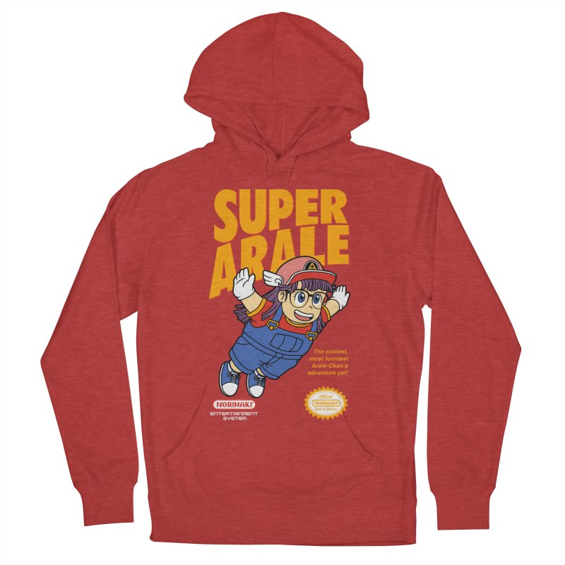 Super Android Girl Men's French Terry Pullover Hoody by Pigboom's Artist Shop