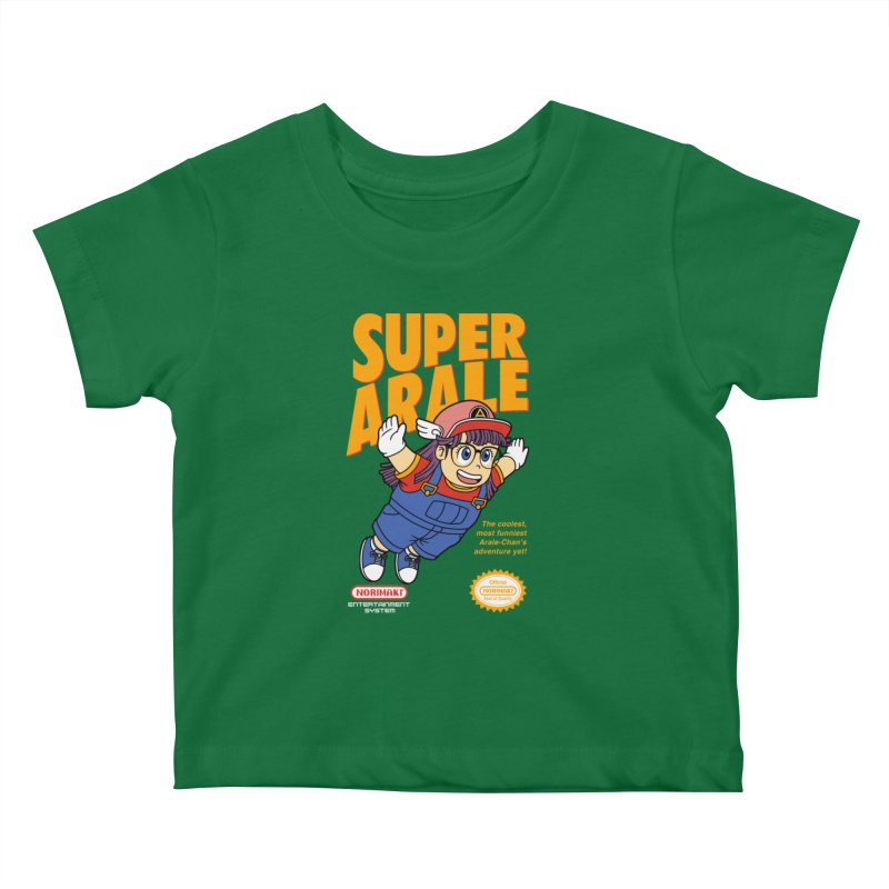 Super Android Girl Kids Baby T-Shirt by Pigboom's Artist Shop