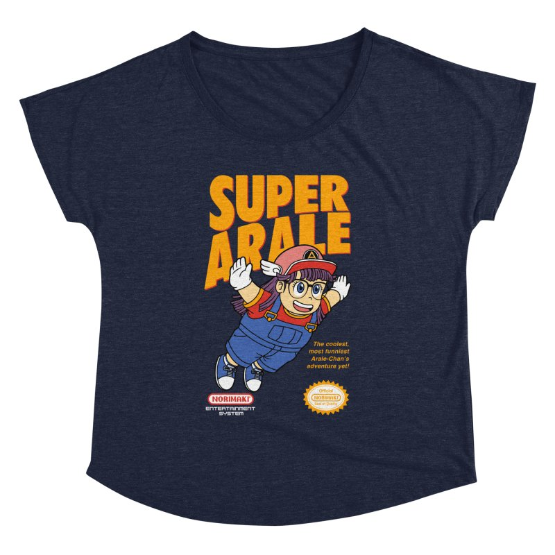 Super Android Girl Women's Dolman Scoop Neck by Pigboom's Artist Shop