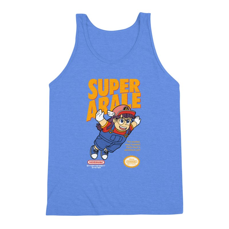 Super Android Girl Men's Triblend Tank by Pigboom's Artist Shop