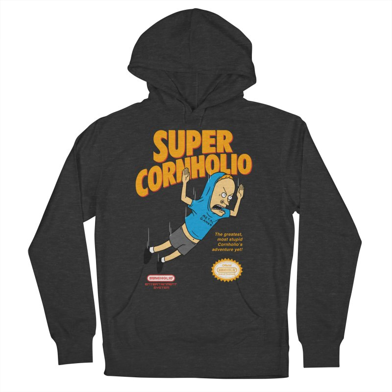 Super Cornholio Women's French Terry Pullover Hoody by Pigboom's Artist Shop