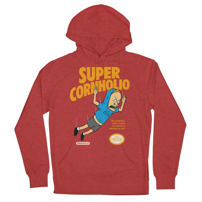 Super Cornholio Men's French Terry Pullover Hoody by Pigboom's Artist Shop