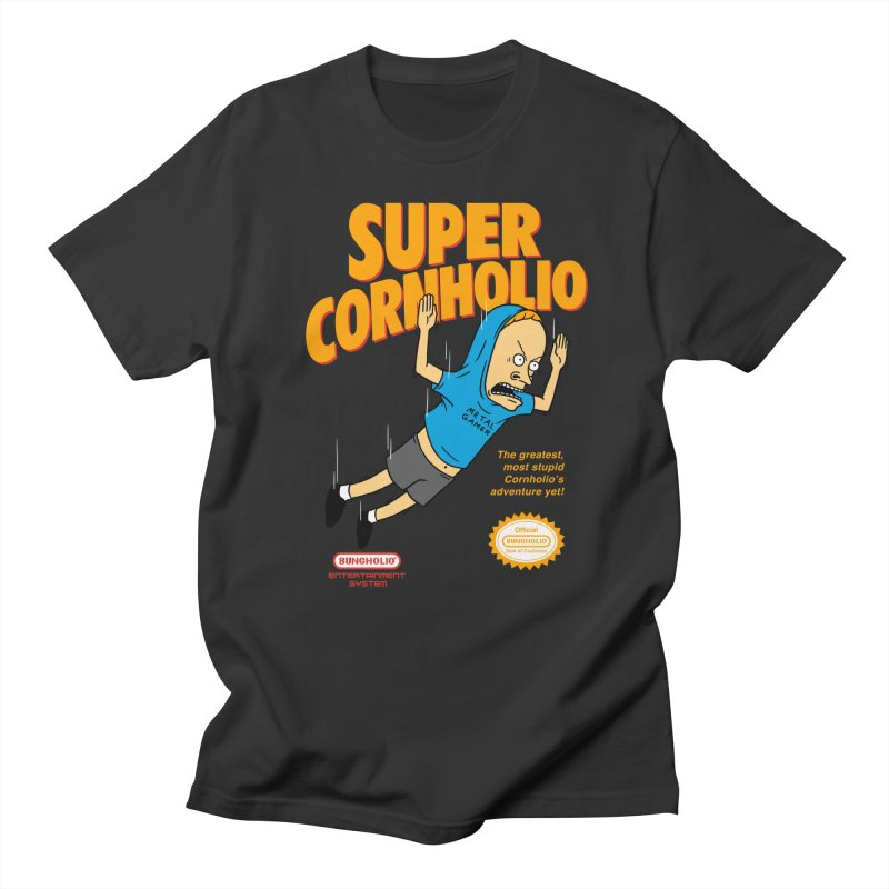 Super Cornholio Women's Regular Unisex T-Shirt by Pigboom's Artist Shop