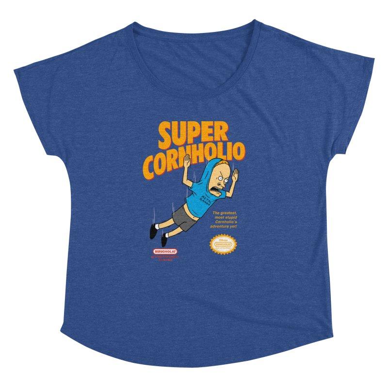 Super Cornholio Women's Dolman Scoop Neck by Pigboom's Artist Shop